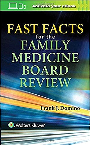 Portada del libro 9781496370891 Fast Facts for the Family Medicine Board Review