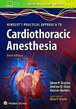Portada del libro 9781496372666 Hensley's Practical Approach to Cardiothoracic Anesthesia