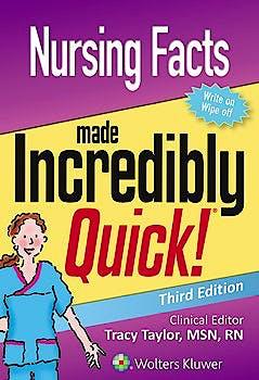 Portada del libro 9781496372789 Nursing Facts Made Incredibly Quick
