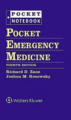 Portada del libro 9781496372802 Pocket Emergency Medicine