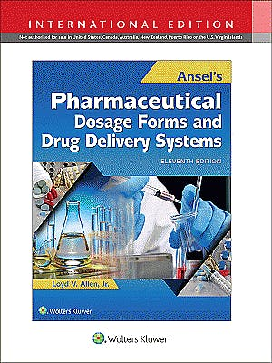 Portada del libro 9781496372918 Ansel's Pharmaceutical Dosage Forms and Drug Delivery Systems (International Edition)