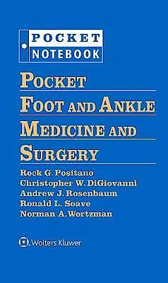 Portada del libro 9781496375292 Pocket Foot and Ankle Medicine and Surgery