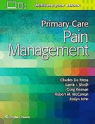 Portada del libro 9781496378804 Primary Care Pain Management