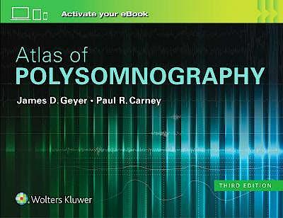 Portada del libro 9781496381088 Atlas of Polysomnography