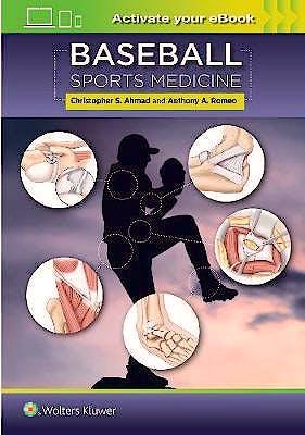 Portada del libro 9781496381460 Baseball Sports Medicine