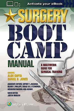 Portada del libro 9781496383440 Surgery Boot Camp Manual. A Multimedia Guide for Surgical Training
