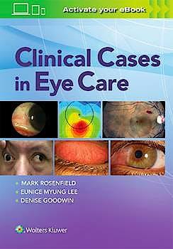 Portada del libro 9781496385345 Clinical Cases in Eye Care