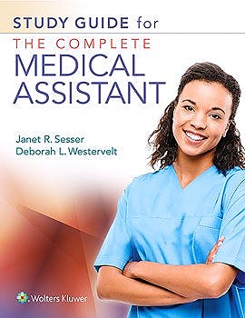 Portada del libro 9781496385659 Study Guide for the Complete Medical Assistant