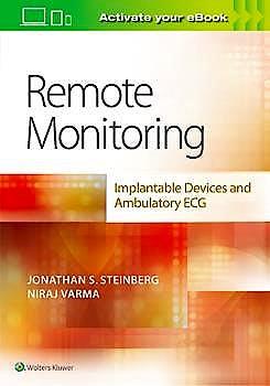 Portada del libro 9781496386052 Remote Monitoring. Implantable Devices and Ambulatory ECG