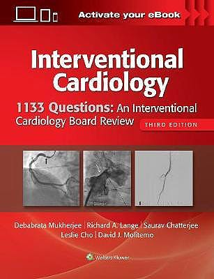 Portada del libro 9781496386199 1133 Questions. An Interventional Cardiology Board Review