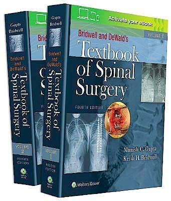 Portada del libro 9781496386489 Bridwell and DeWald's Textbook of Spinal Surgery, 2 Vols.