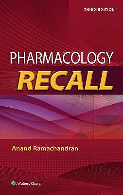 Portada del libro 9781496386861 Pharmacology Recall
