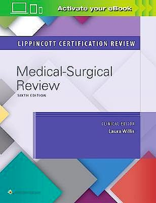 Portada del libro 9781496387332 Medical-Surgical Nursing (Lippincott Certification Review)