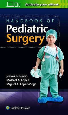 Portada del libro 9781496388537 Handbook of Pediatric Surgery