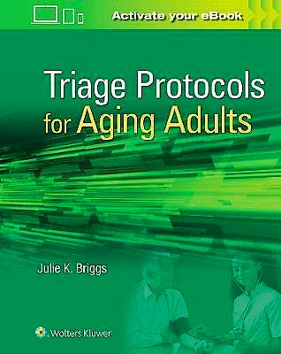 Portada del libro 9781496389442 Triage Protocols for Aging Adults