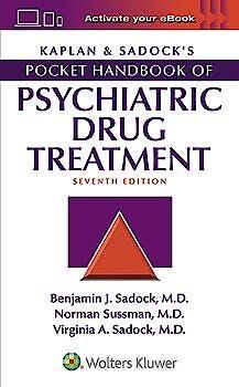 Portada del libro 9781496389589 Kaplan and Sadock's Pocket Handbook of Psychiatric Drug Treatment