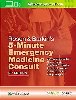 Portada del libro 9781496392954 Rosen and Barkin's 5-Minute Emergency Medicine Consult