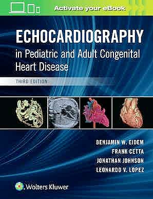 Portada del libro 9781496394019 Echocardiography in Pediatric and Adult Congenital Heart Disease