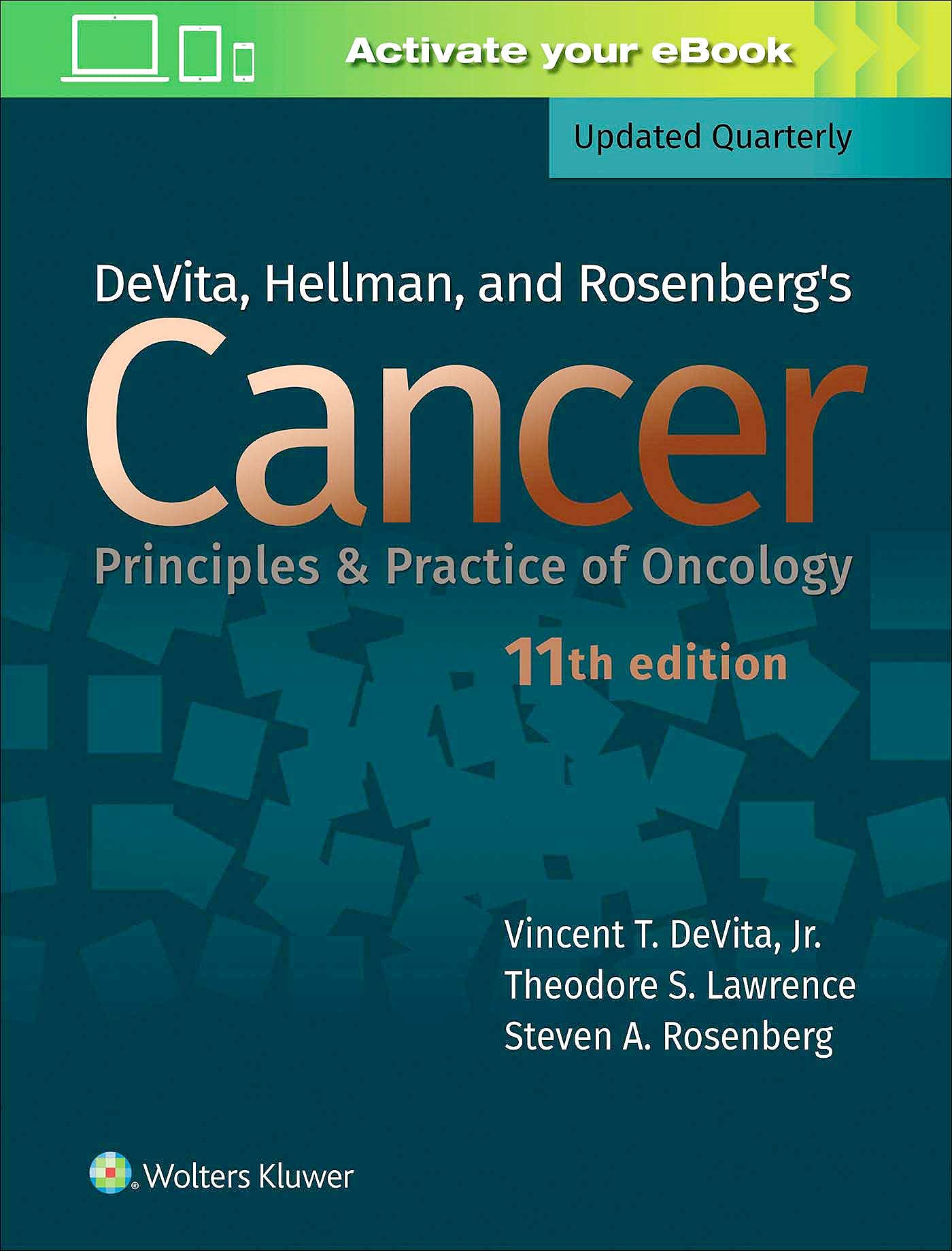 Portada del libro 9781496394637 DeVita, Hellman, and Rosenberg's Cancer. Principles and Practice of Oncology