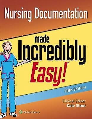 Portada del libro 9781496394736 Nursing Documentation Made Incredibly Easy¡