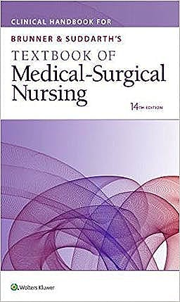 Portada del libro 9781496395917 Clinical Handbook for Brunner and Suddarth's Textbook of Medical-Surgical Nursing (International Edition)