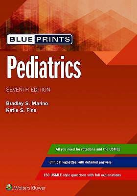 Portada del libro 9781496396464 Blueprints Pediatrics