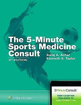 Portada del libro 9781496396938 5-Minute Sports Medicine Consult