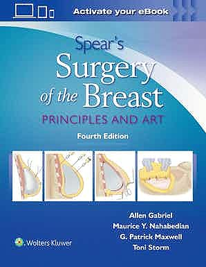 Portada del libro 9781496397010 Spear's Surgery of the Breast. Principles and Art