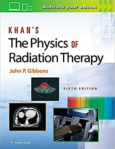 Portada del libro 9781496397522 Khan's The Physics of Radiation Therapy