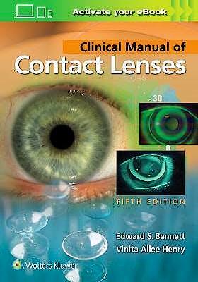Portada del libro 9781496397799 Clinical Manual of Contact Lenses