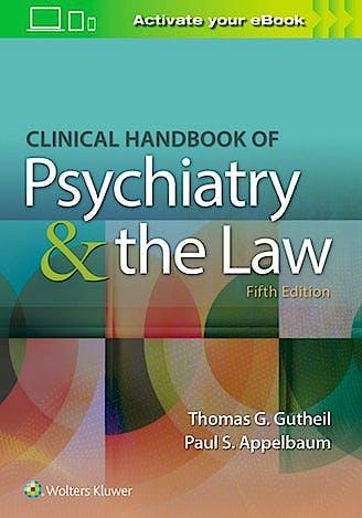 Portada del libro 9781496398055 Clinical Handbook of Psychiatry and the Law