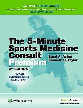 Portada del libro 9781496398086 5-Minute Sports Medicine Consult PREMIUM (Includes 1 Year Online Subscription)