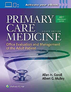 Portada del libro 9781496398116 Primary Care Medicine. Office Evaluation and Management of the Adult Patient