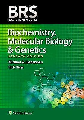 Portada del libro 9781496399236 BRS Biochemistry, Molecular Biology, and Genetics