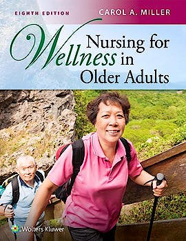 Portada del libro 9781496399816 Nursing for Wellness in Older Adults