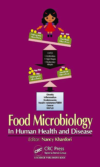 Portada del libro 9781498708784 Food Microbiology. in Human Health and Disease