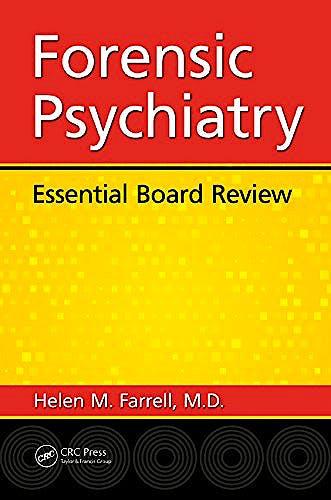 Portada del libro 9781498716093 Forensic Psychiatry. Essential Board Review