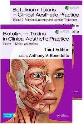 Portada del libro 9781498716314 Botulinum Toxins in Clinical Aesthetic Practice, 2 Vols. (Print and Online)