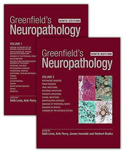 Portada del libro 9781498721288 Greenfield's Neuropathology, 2 Vols. + E-Book