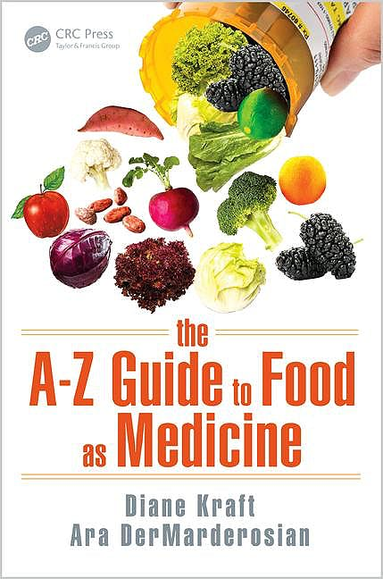Portada del libro 9781498735230 The A–z Guide to Food as Medicine