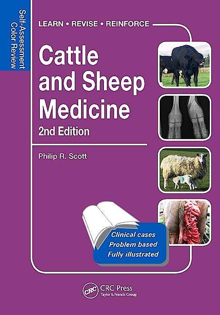 Portada del libro 9781498747370 Cattle and Sheep Medicine. Self-Assessment Color Review