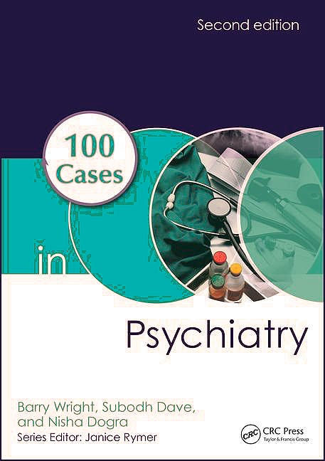Portada del libro 9781498747745 100 Cases in Psychiatry (Softcover)