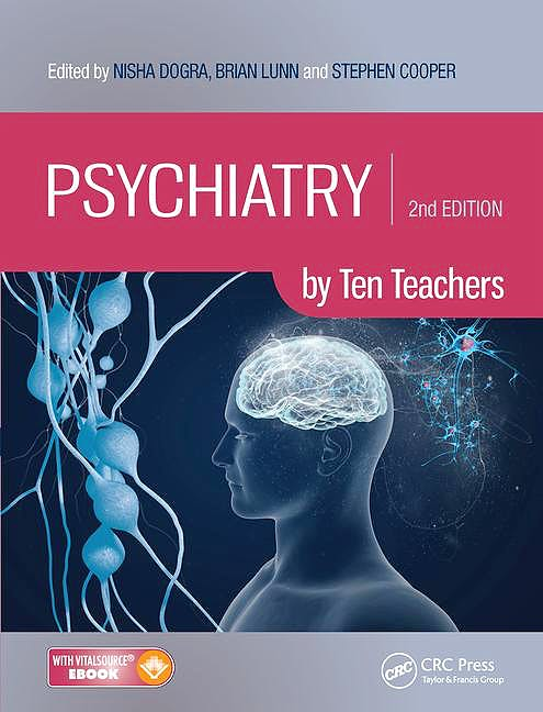 Portada del libro 9781498750226 Psychiatry by Ten Teachers (Book + Ebook)
