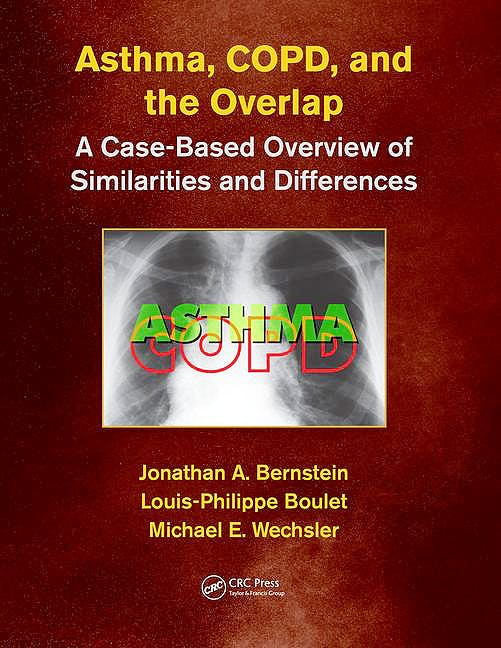 Portada del libro 9781498758413 Asthma, COPD, and Overlap. A Case-Based Overview of Similarities and Differences (Softcover)