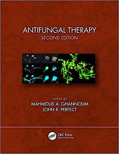 Portada del libro 9781498768146 Antifungal Therapy