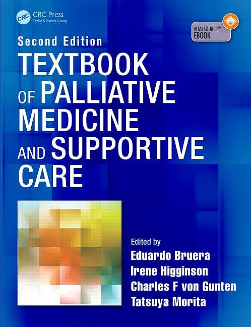 Portada del libro 9781498772839 Textbook of Palliative Medicine and Supportive Care (Softcover)