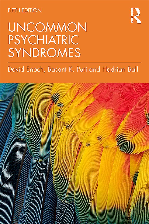 Portada del libro 9781498787956 Uncommon Psychiatric Syndromes