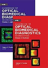 Portada del libro 9781510601635 Handbook of Optical Biomedical Diagnostics, 2 Vols. (Vols. Pm262 and Pm263)