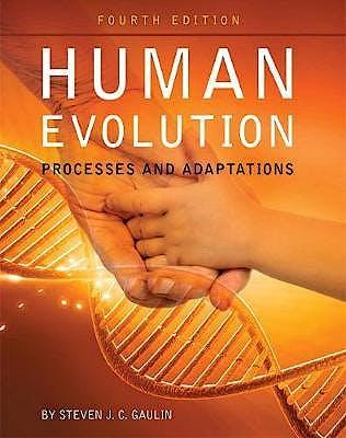 Portada del libro 9781516512218 Human Evolution. Processes and Adaptations