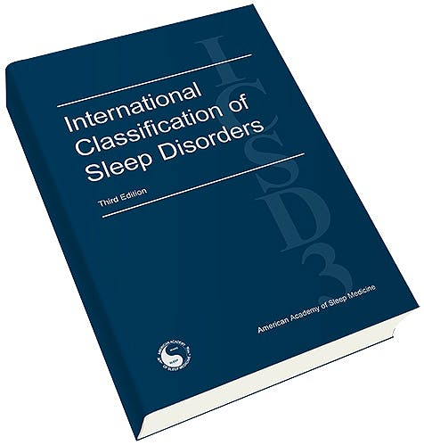 Portada del libro 9781523355426 International Classification of Sleep Disorders (ICSD-3) & Case Book of Sleep Medicine Bundle